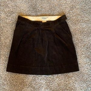 a1a410d4f Lands' End. Brown Land's End corduroy skirt